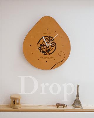 花個紋時計 MonClock Drop