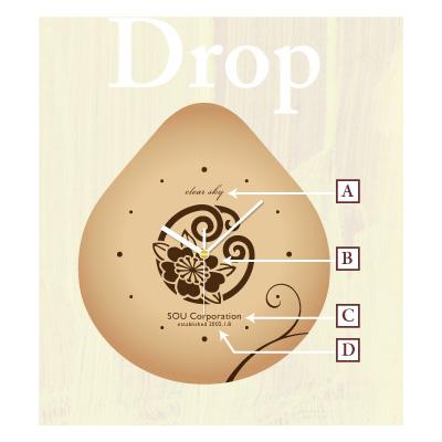 Dropタイプデザインレイアウト