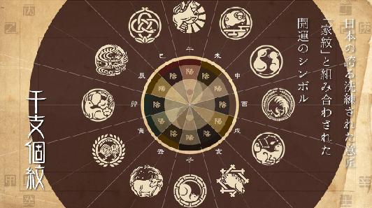 干支個紋円図