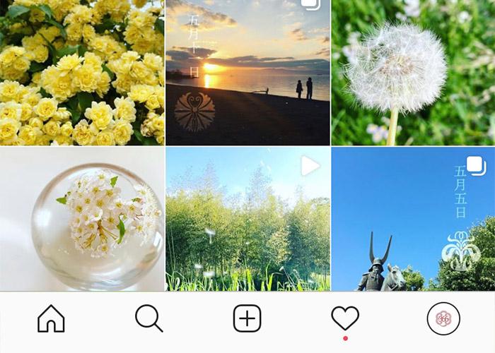 花個紋instagram