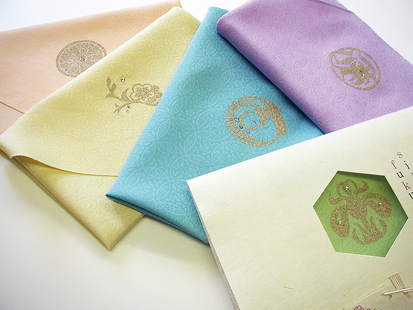 絹fukusa-パステル色