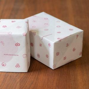 信楽焼 花個紋オリジナル包装紙